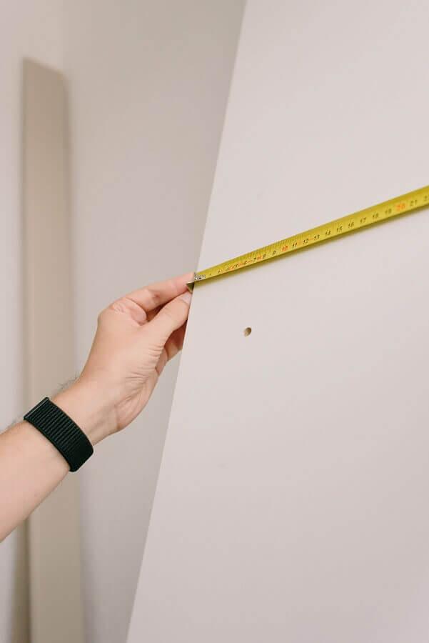 tirando as medidas da casa Foto Pexels