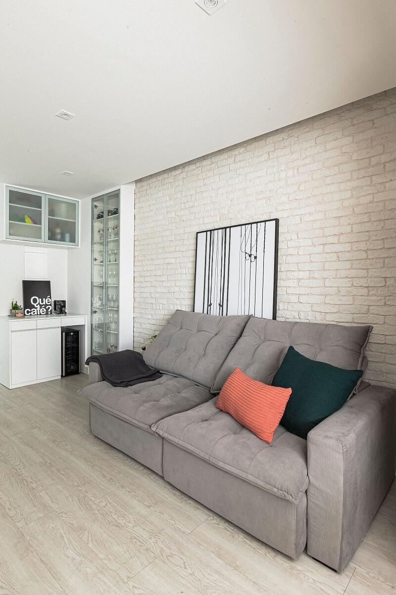 A variedade de opções de papéis de parede existem para atender a todos os gostos e estilos. Foto: Habitissimo
