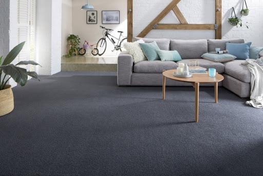 Carpete para sala cinza escuro