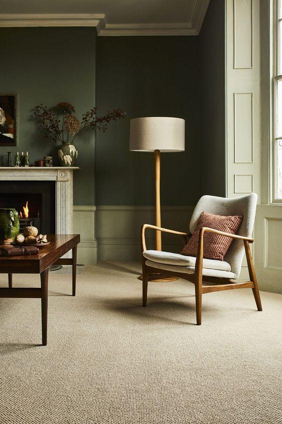 Carpete para sala de fibra