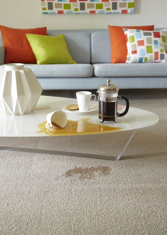 Carpete para sala moderna e clara