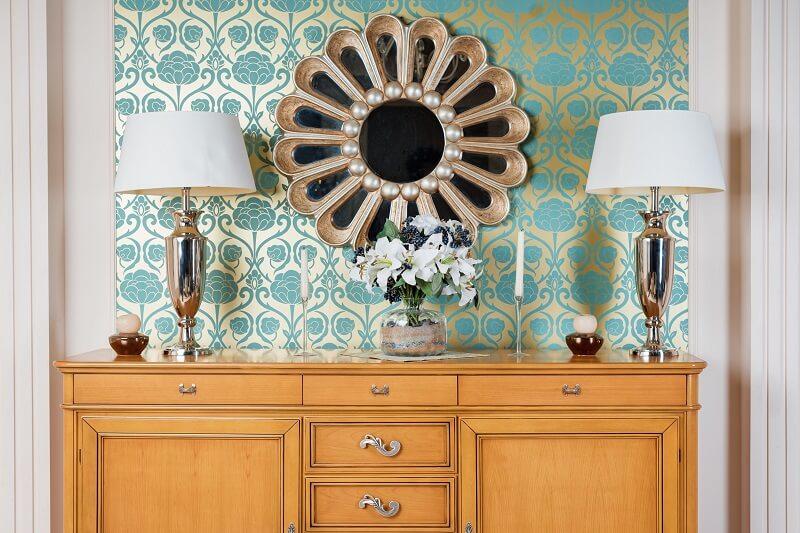 Conheça as vantagens de investir no papel de parede na decoração. Foto: Habitissimo