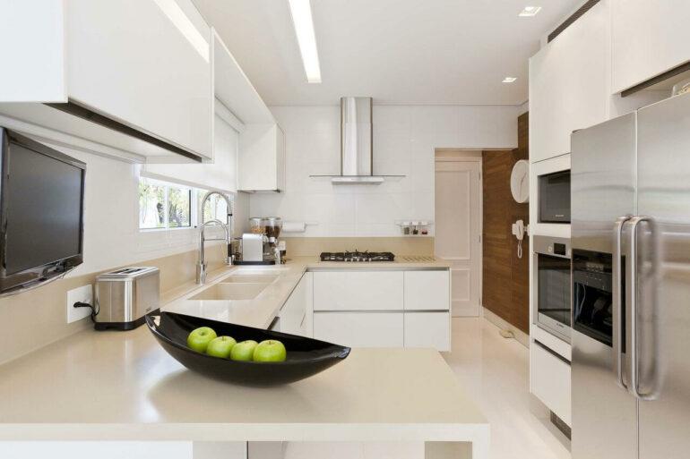 No feng shui cozinha evite usar panelas danificadas. Fonte: Ornare