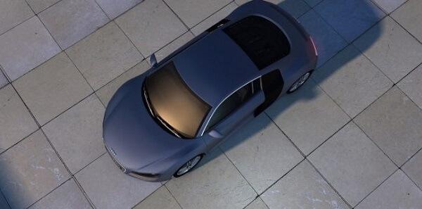 Piso cerâmico emborrachado para garagem