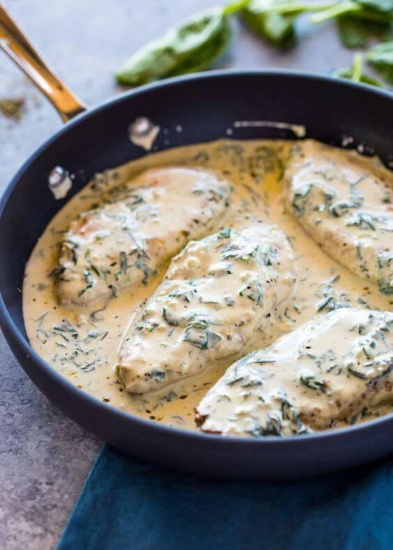 Receitas para almoço rápido com frango e molho