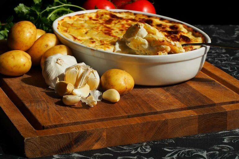Dica de receita de batata gratinada no forno Foto Pixabay