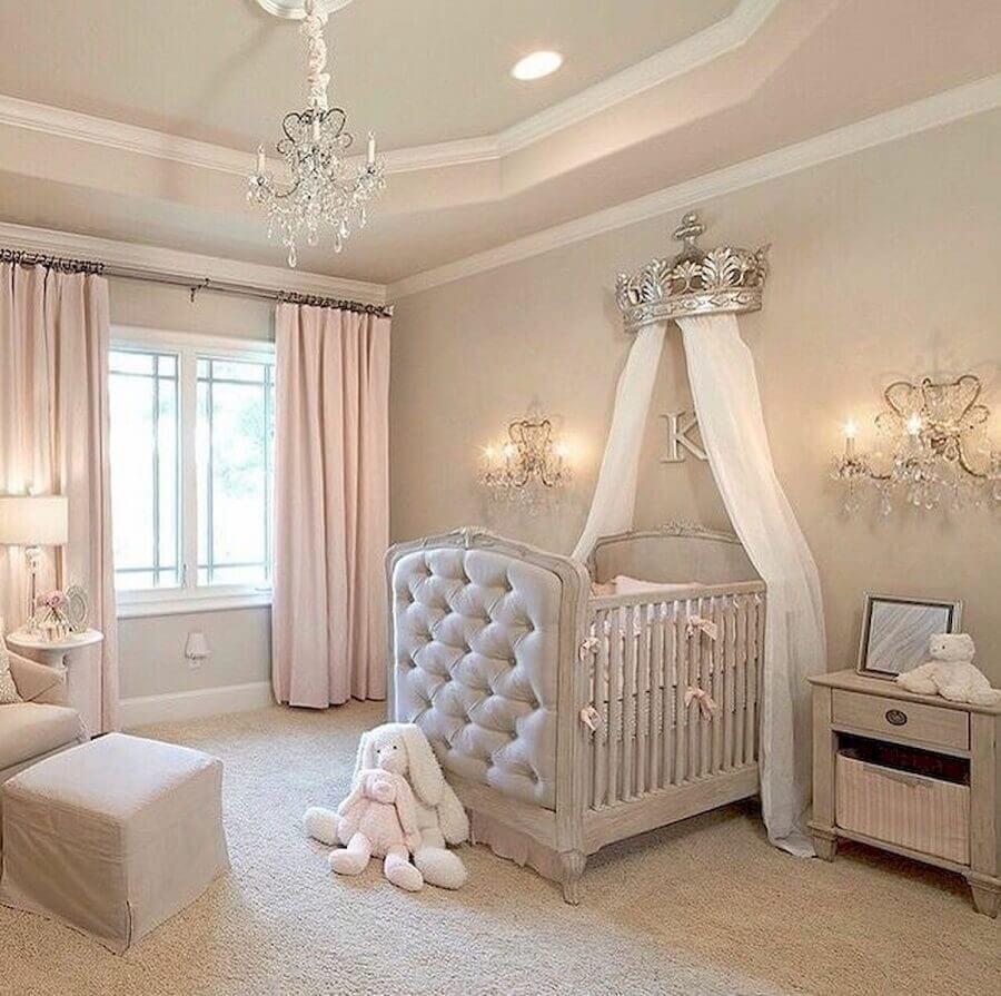 Dossel coroa para decoração de quarto de bebe clássico Foto Home Fashion Trend