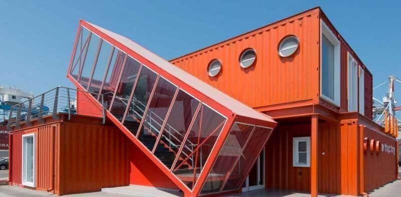 Projeto diferenciado de construção container Foto Capital Container