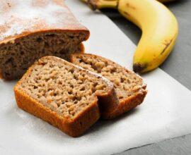 Receita de bolo de banana fofinho com canela Foto iStock