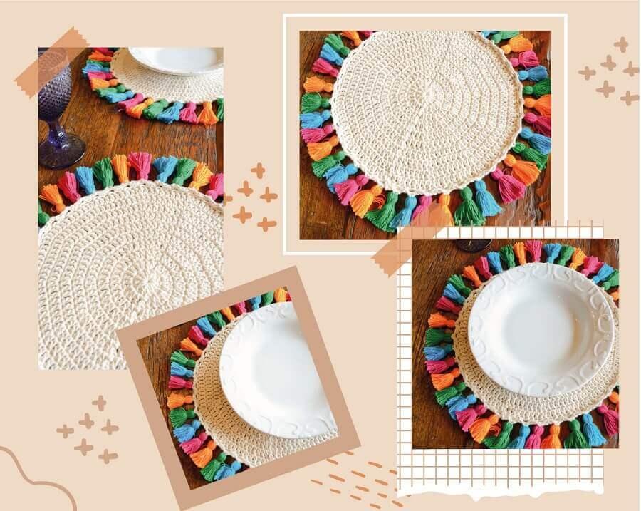 Saiba como levar o artesanato para a mesa posta Foto Circulo