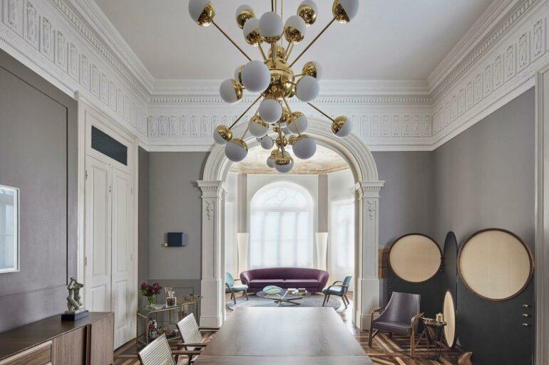 A decoração clássica já é naturalmente requintada. Fonte: Casacor MG 17